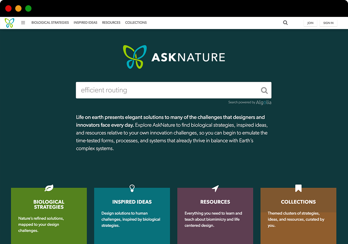 Asknature GreenShield Feature